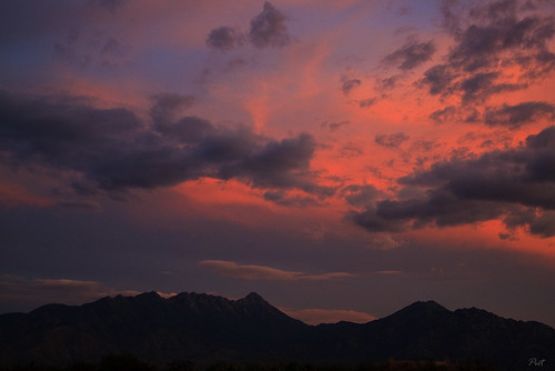 sunset red arizona sky usa mountains nature clouds photography az nopeople greenvalley scenics mountainrange colorimage beautyinnature santaritamountains canoneos1dmklll