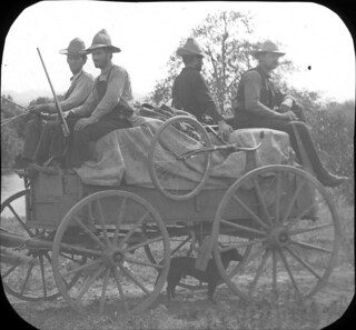 People riding in wagons | by OSU Special Collections & Archives : Commons