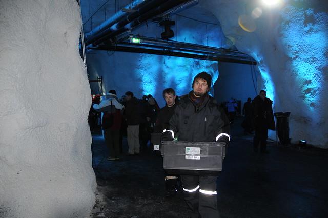 Svalbard Global Seed Vault Seed Accession