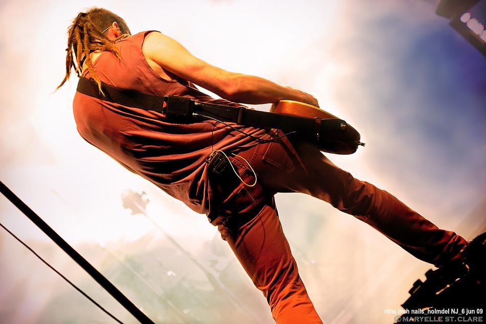 Robin Finck   Nine Inch Nails @ Holmdel 6/6/09