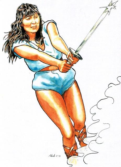 The Warrior (Lilly Blum)