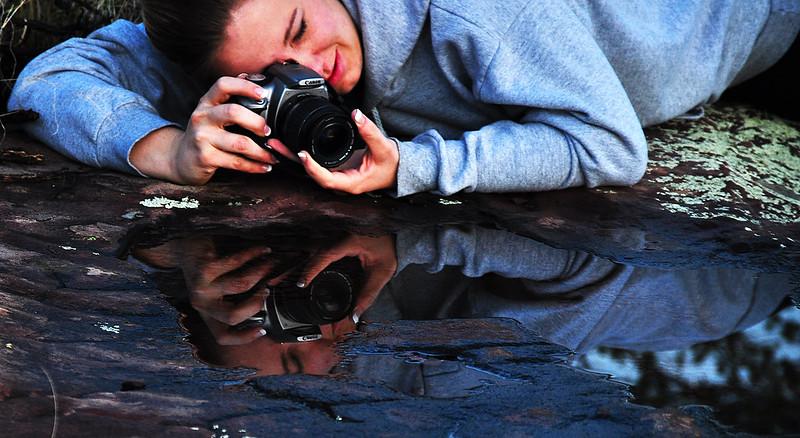 Photographers reflection