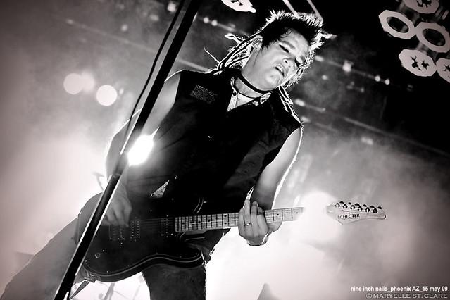 Robin Finck   Nine Inch Nails @ Phoenix 5/15/09