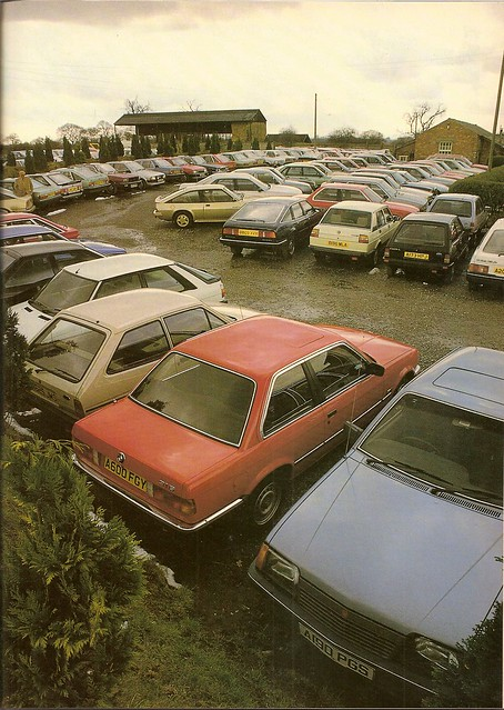 1980's Car Park from 1985