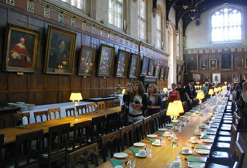 banquet hall in christ church college, oxford | by hopemeng