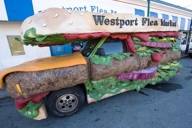 Hamburger truck