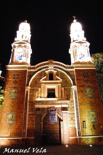DSC_0749 Iglesia de la Villita, Paseo Bravo Puebla., Puebla por LAE Manuel Vela