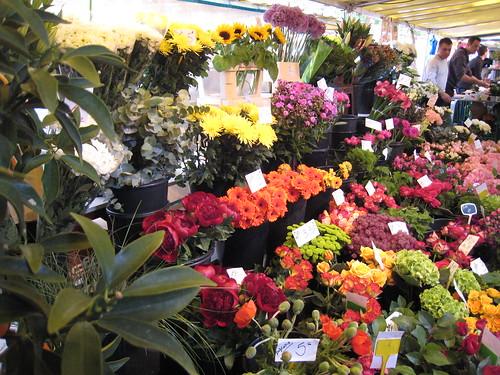 Market Flowers   by portmanteaus