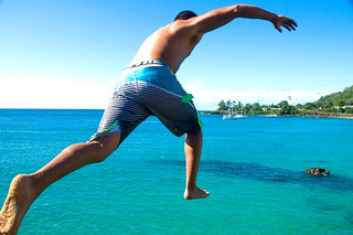 Eli leaping   by Lori Photography
