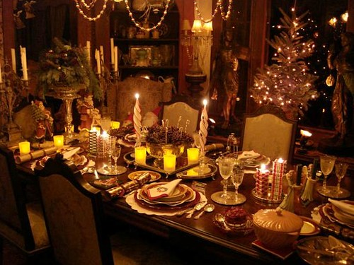 Christmas Eve Dinner Table Decorations Christmas Eve Table Flickr