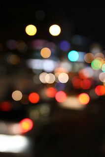 Blur of city lights | by Yiie