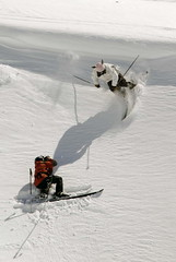 ACG SNOWride 2007 - Samnaun, Petr Socha a Ondra Beneš