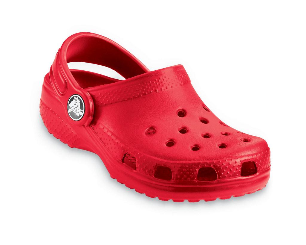 aa07de8a9 Crocs Kids Cayman Red Clog