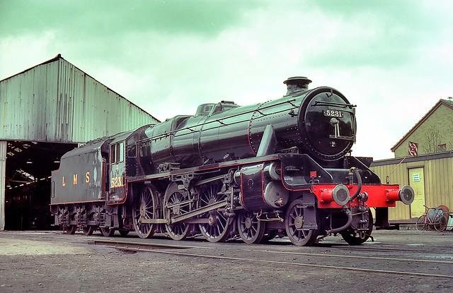 LMS Black 5 5321 @Great Central Railway | BR 45321 (LMS 5321
