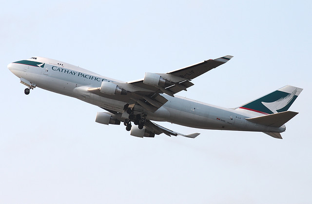 B747-467/F/ER | Cathay Pacific Cargo | B-LIF | HKG