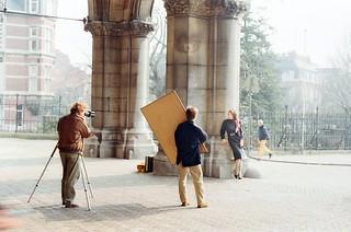 20. ///60/1k/1054/1f - Amsterdam, Netherlands - outside the Rijksmuseum - 1987