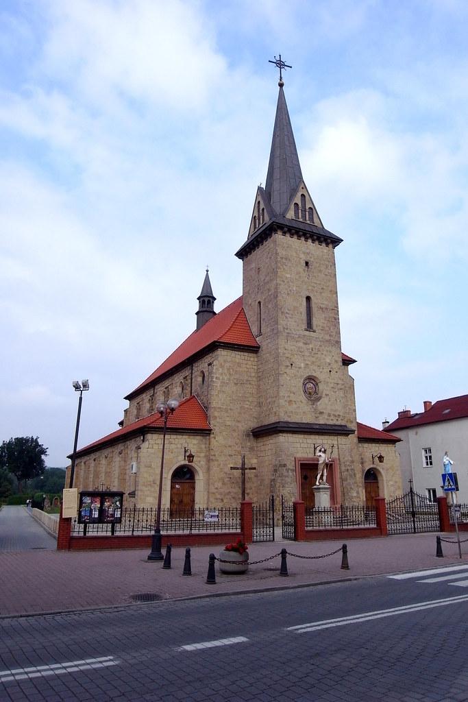 Kościół MB Wspomożenia Wiernych w Dobczycach / Our Lady Help of Christians church in Dobczyce