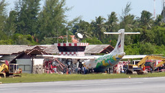 Koh Samui Airport this morning サムイ空港05