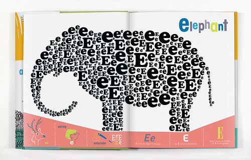 E is for Elephant | by wernerdesignwerks
