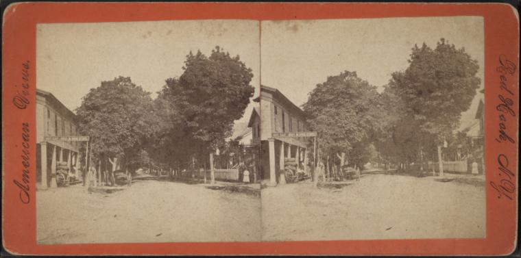 [Street view in Red Hook, N.Y.]