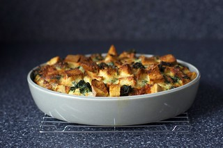 spinach and cheese strata | by smitten kitchen