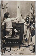 Vintage Postcards - Bonne Annee - 04 by sebastien.barre