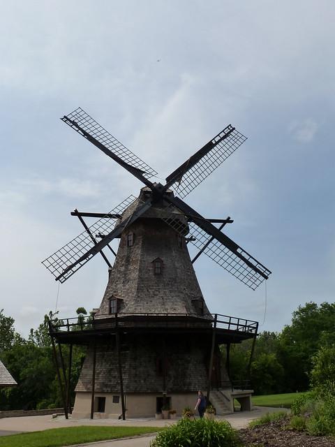 Neat Windmill in Batavia
