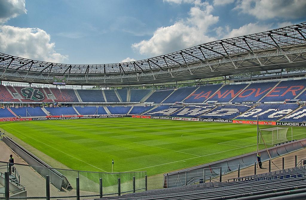AWD Arena Hannover   Heimatstadion von Hannover 96. DRI ...