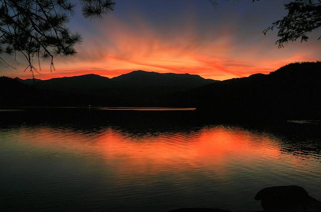 Sunset at Siskiyou