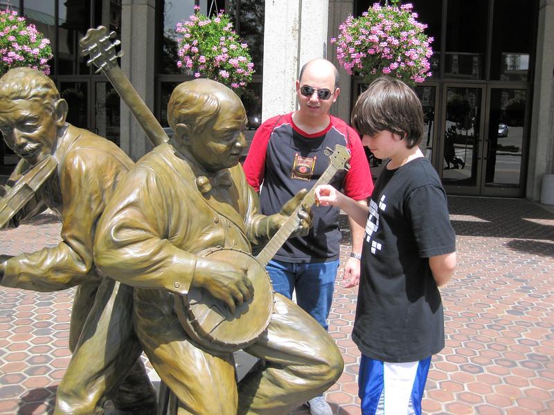 asheville statue