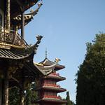 Padiglione cinese e torre giapponese