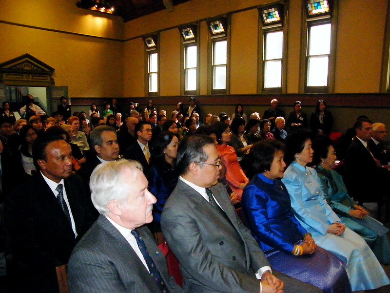 World Tipiṭaka Presentation Ceremony Univ of Melbourne 2009