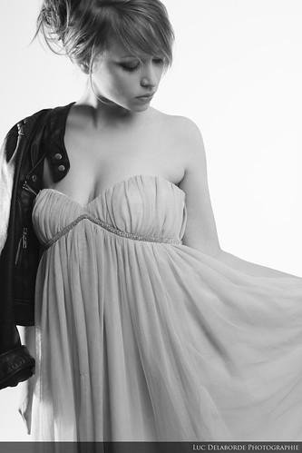 Cyrielle B&W | by Luc D