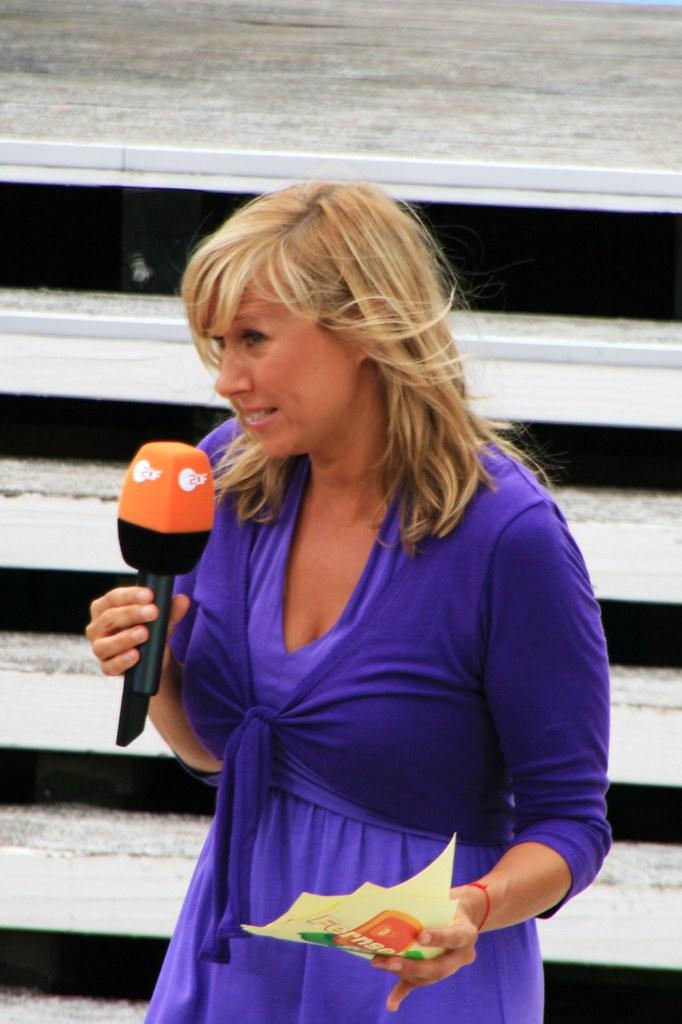 Zdf Fernsehgarten Andrea Kiewel Moderatorin Andrea Kiewel Flickr