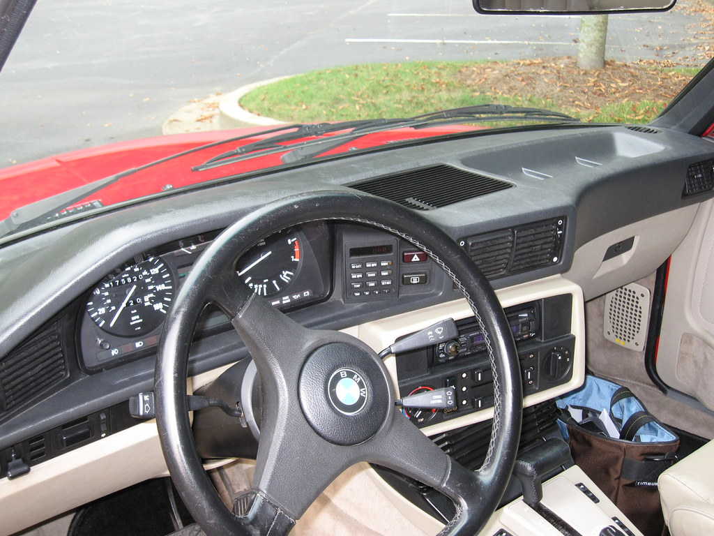 BMW E28 Cockpit | Ron Cordell | Flickr
