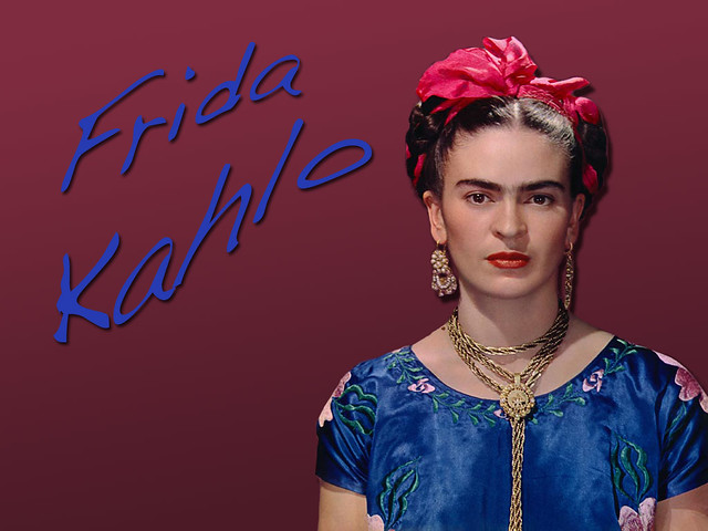 Frida Kahlo Frida Kahlo Wallpaper I Made Adam Flickr