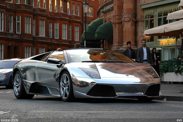 Chrome Lamborghini Murcielago Lp640 Anton Flickr