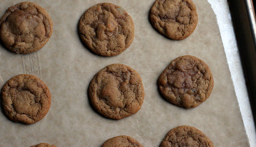 Chewy Ginger Cookies with Cardamom and Black Pepper