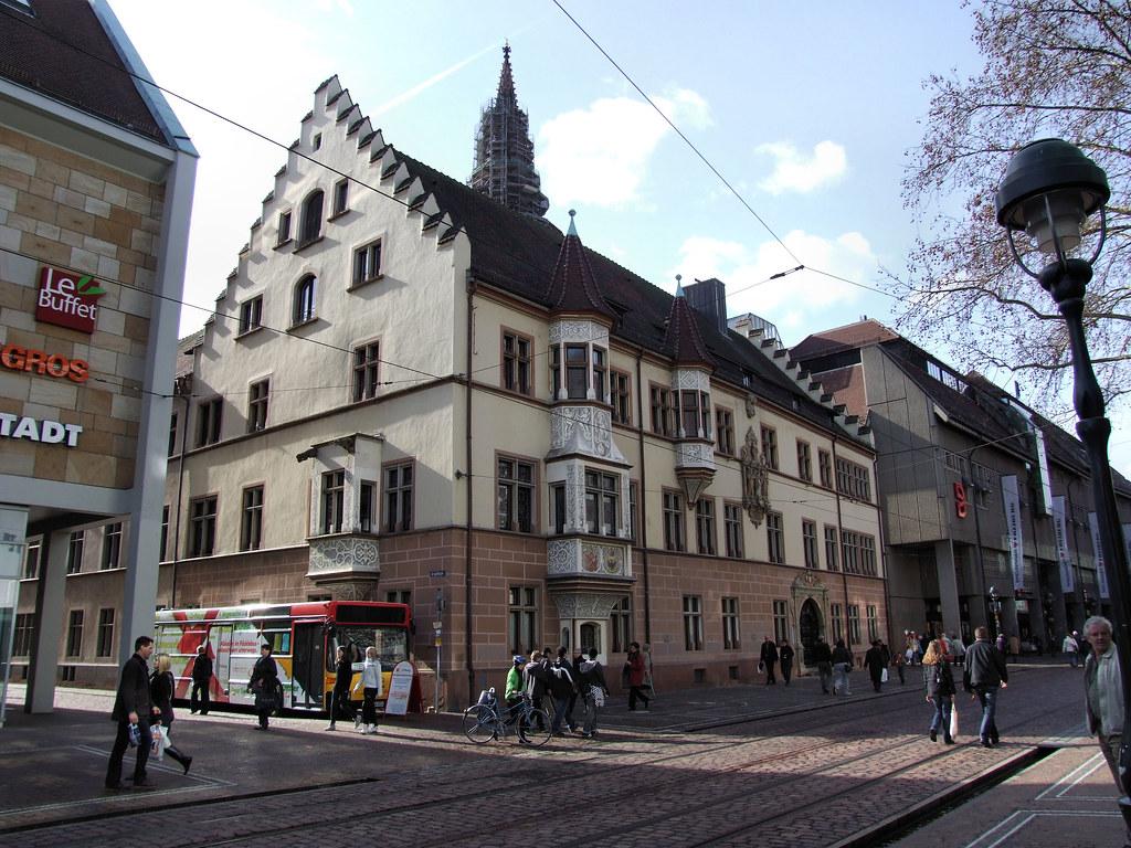 Basler Hof, Kaiser-Joseph Straße, Freiburg | Robert Cutts | Flickr