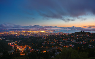 Dusk in the Oakland Hills | by Joe Parks