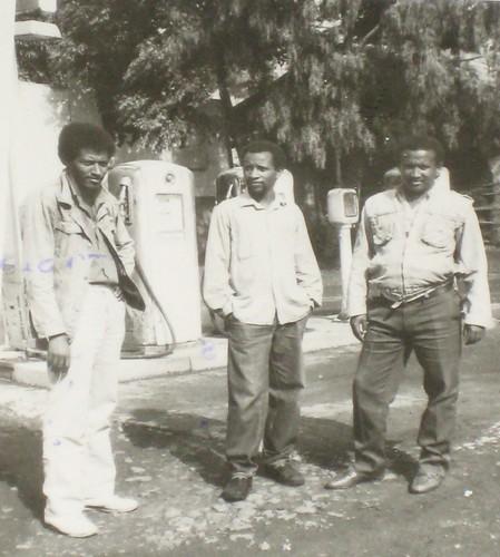 Infront of AGIP(Haftu, Teferi Teka & Alem Gidey)   by madokorem.org