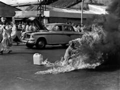 BUDDHISMUS BURNING MONK - | by utkinstruct