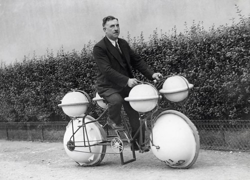 Amfibiefiets / Amphibious bicycle