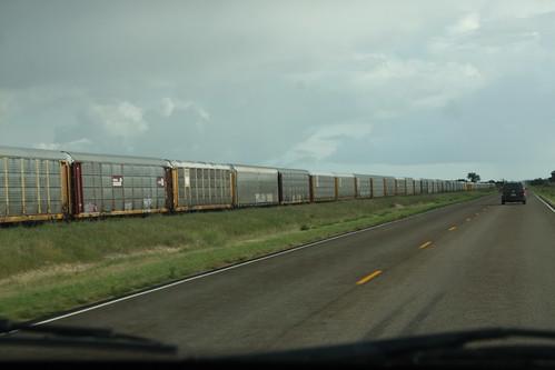 railroad abandoned train highway north tracks dakota freight minot
