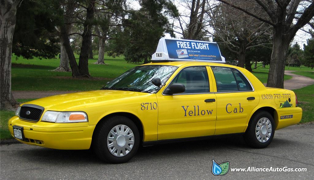 Yellow Cab Denver >> Propane Vehicle Denver Yellow Cab Hybrid Converted Vehic Flickr
