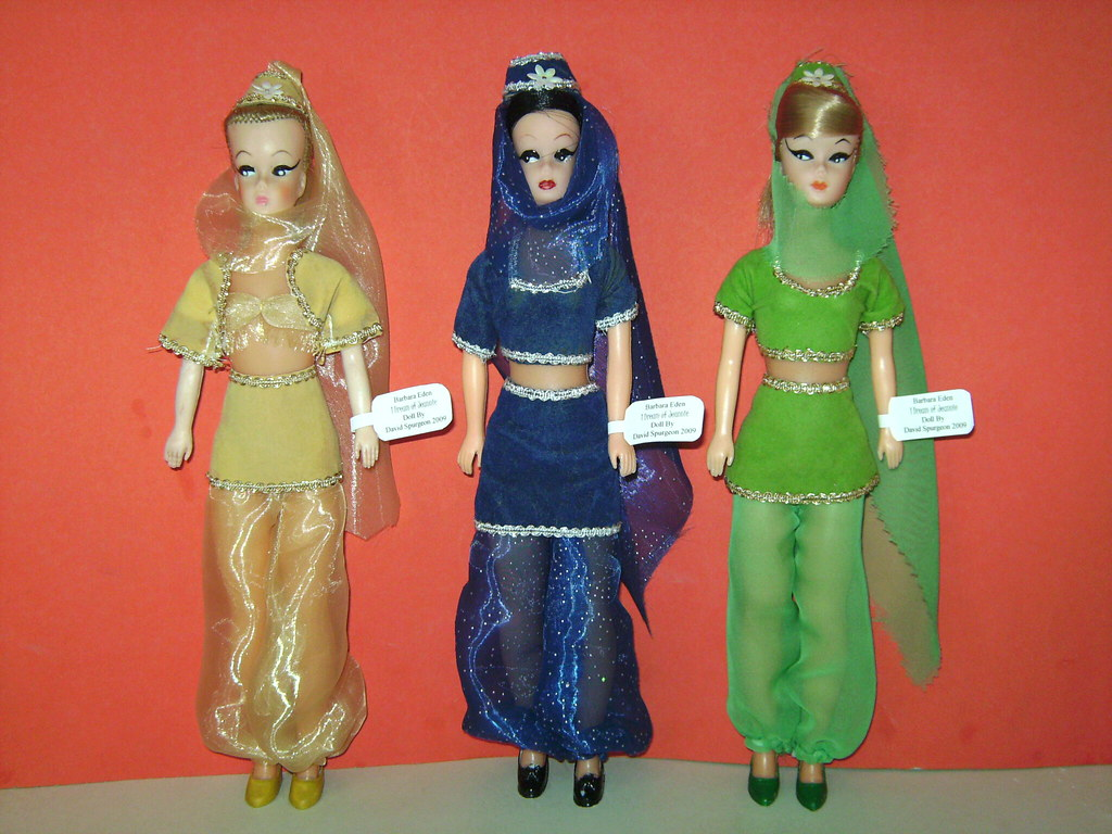 I Dream Of Jeannie These Are The I Dream Of Jeannie Dolls Flickr