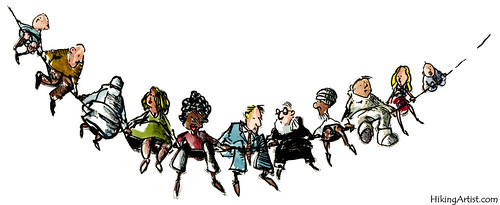 The global society   by Frits Ahlefeldt FritsAhlefeldt.com
