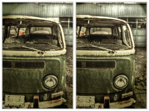 bus volkswagen stereoscopic 3d nikon silverton stereo hdr stereoscopy type2 crossview d40