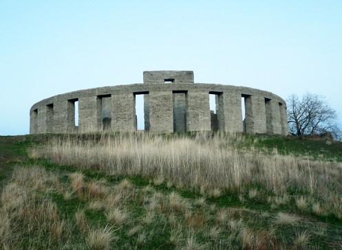 Stonehenge at the Maryhill Museum (Oregon)   Recently, I too