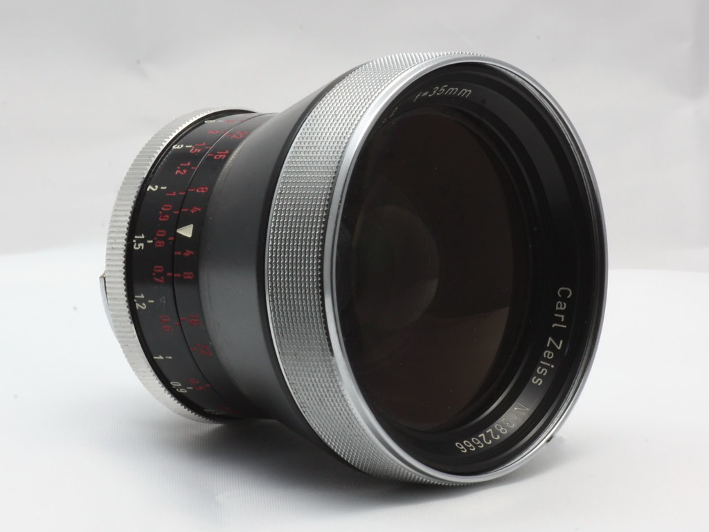 Carl Zeiss Pro Tessar 3 2/35 front element lens | Stefan